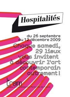 3ème édition d'Hospitalités