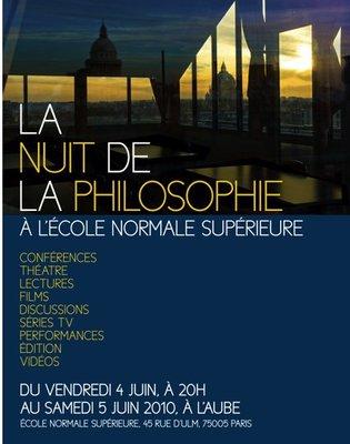 Nuit de la Philosophie