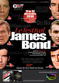 Festival Bond, James Bond du 11 au 12 décembre