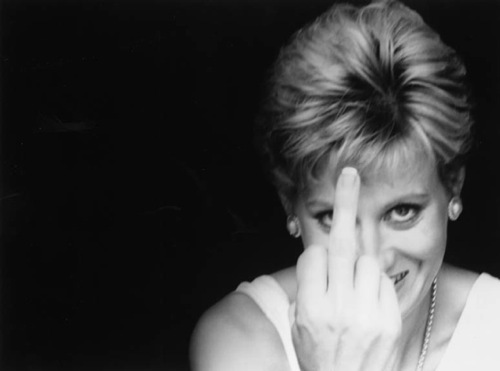 Alison JACKSON, Diana gives the finger, 2000, © Hamiltons Gallery, Londres