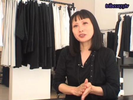 Kim Eun Hwa dans sa boutique