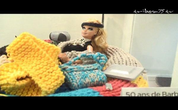 """Barbie guest-star du Salon """"The Box"""""""