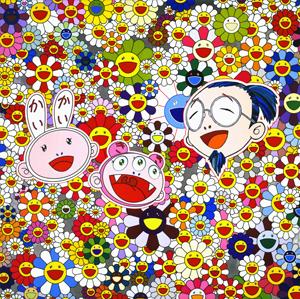 Takashi Murakami à La Galerie Perrotin