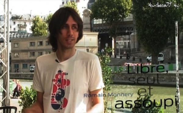 """Romain Monnery, auteur de """"Libre, seul et assoupi"""""""